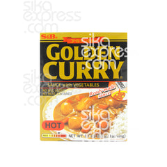 Golden Curry Sauce With Vegetables: Hot 230g
