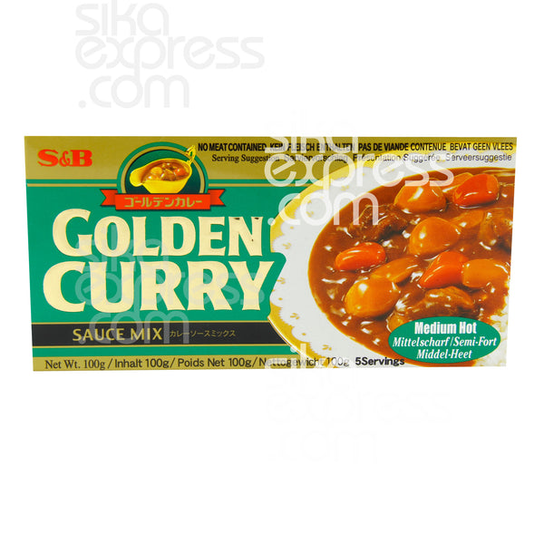 Golden Curry Sauce: Medium Hot 100g / 240g