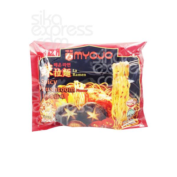 Instant Noodles: Spicy Mushroom Flavour