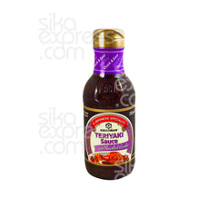"""Teriyaki"" BBQ Sauce: Roasted Garlic Flvour 250ml"