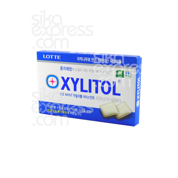 Xylitol Gum: Ice Mint 16g