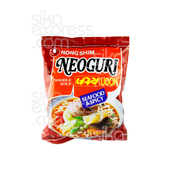 Neoguri Udon Noodle Soup: Seafood & Spicy