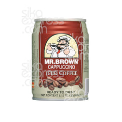 Mr. Brown Iced Coffee: Cappuccino 240ml