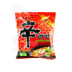 "Instant Noodles: ""Shin Ramyun"" Gourmet Spicy Flavour Soup"