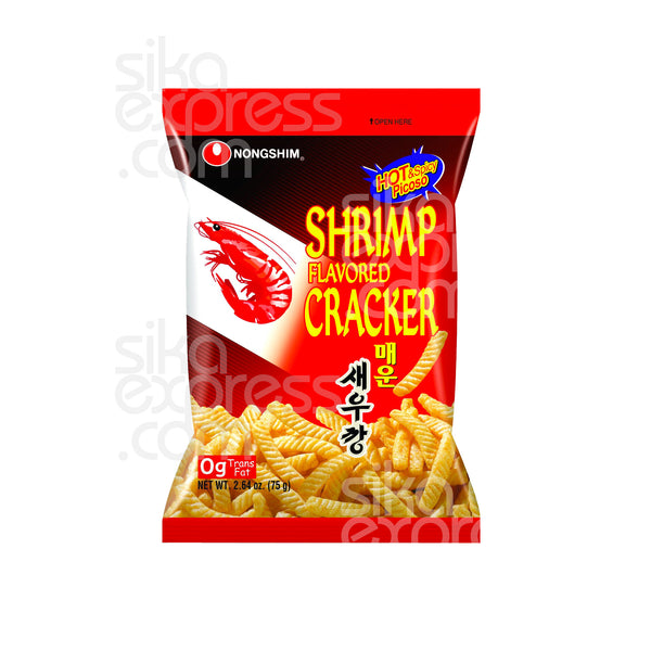 Shrimp Crackers: Hot & Spicy 75g