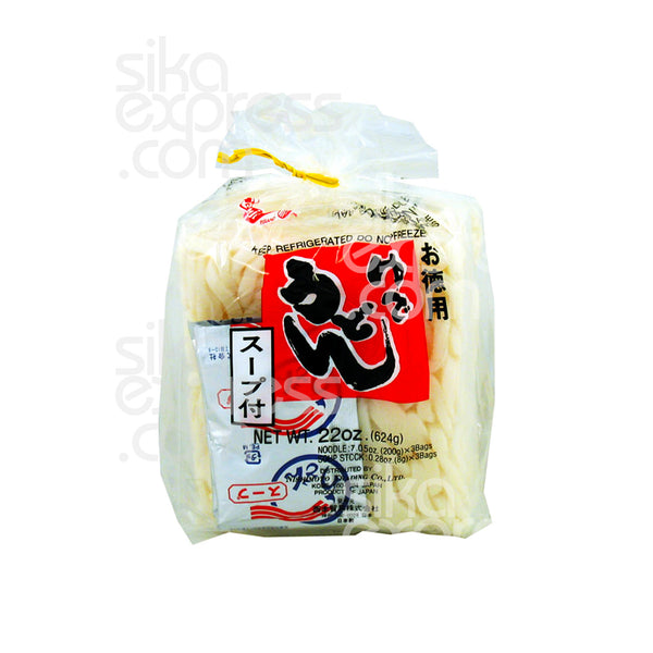 """Yude Udon"" Japanese Style Noodle With Soup Base 624g"