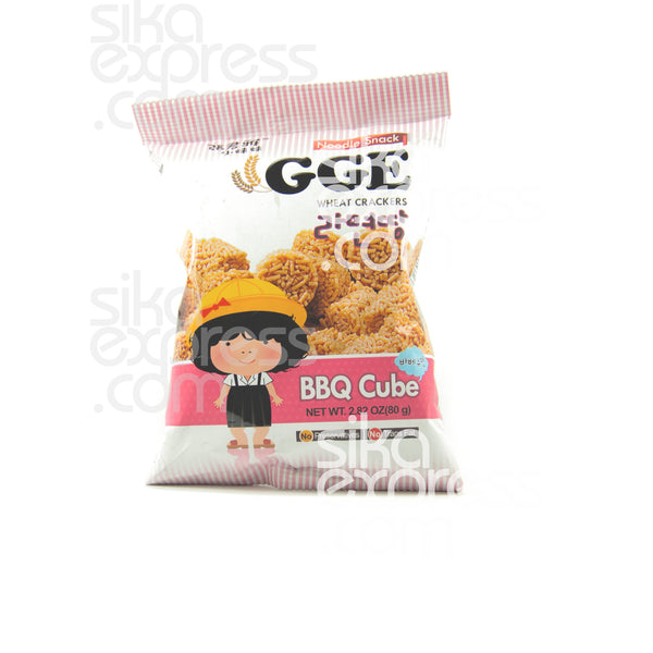 Noodle Wheat Crackers: BBQ Cube 80g