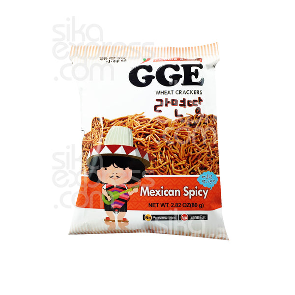 Noodle Wheat Crackers: Mexican Spicy 80g