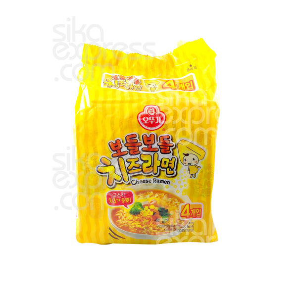 Instant Noodles: Cheese Ramyun