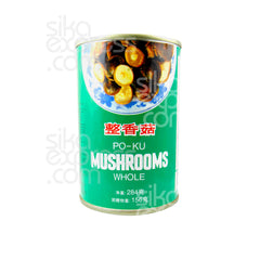 Po-Ku Whole Mushrooms 284g