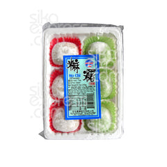 """Mo Chi"" Japanese Rice Cake: Red Bean & Green Tea Flavors 230g"