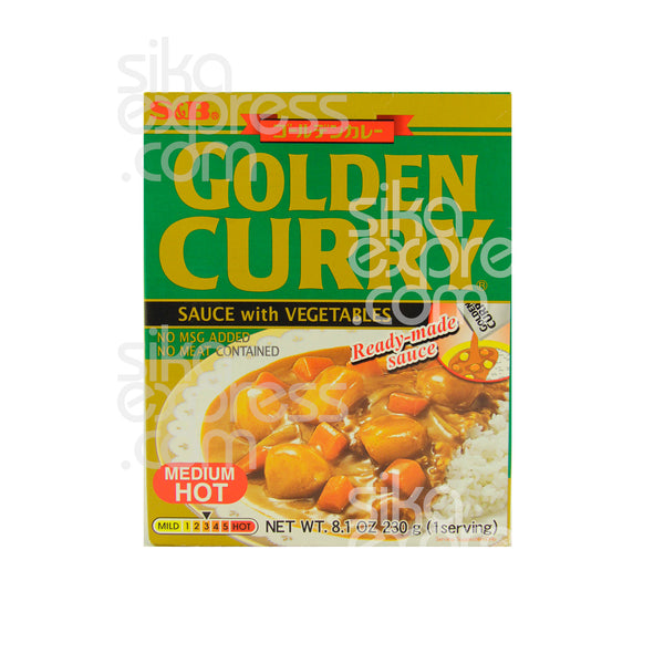 Golden Curry Sauce With Vegetables: Medium Hot 230g