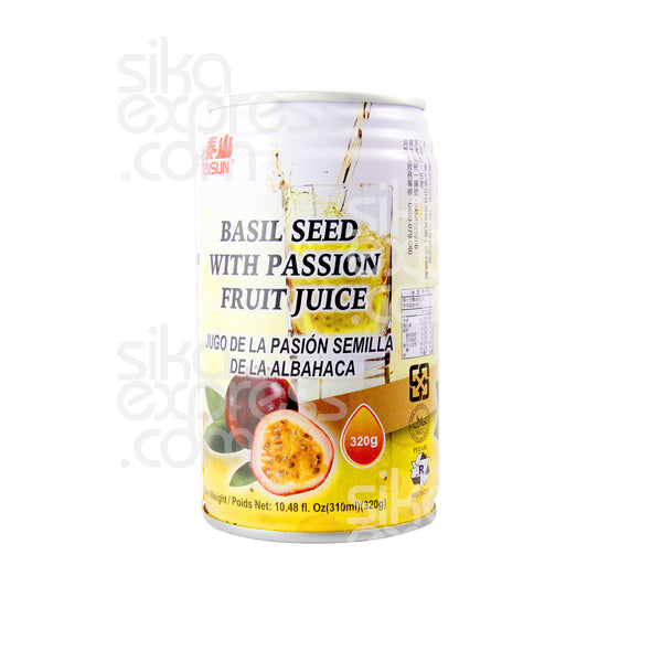 Basil Seed with Passion Fruit Juice 320ml