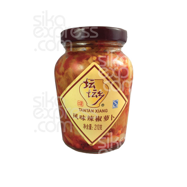 Preserved Turnip in Chilli 210g