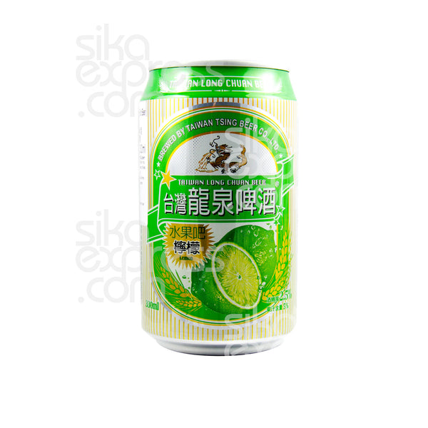Taiwan Long Chuan Beer: Lemon Flavour 330ml