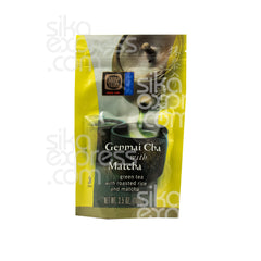 "Premium Green Tea with Roasted Rice and Matcha ""Genmai Cha with Match"" 100g"