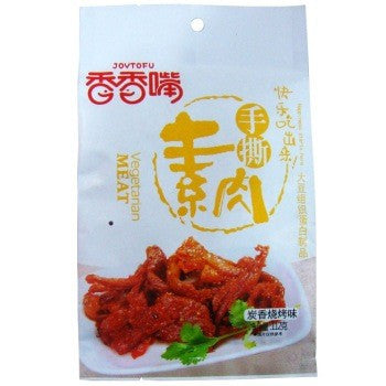Dried Tofu Snacks: BBQ Flavour 112g