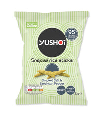 Snapea Rice Sticks: Smoked Salt & Szechuan Pepper 21g