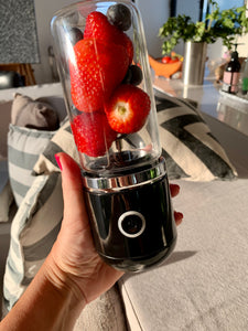 Blendy Black Portable USB Blender Australia