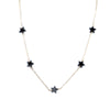 HEMATITE SHOOTING STAR CHOKER