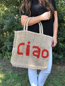 CIAO LARGE WORD BAG
