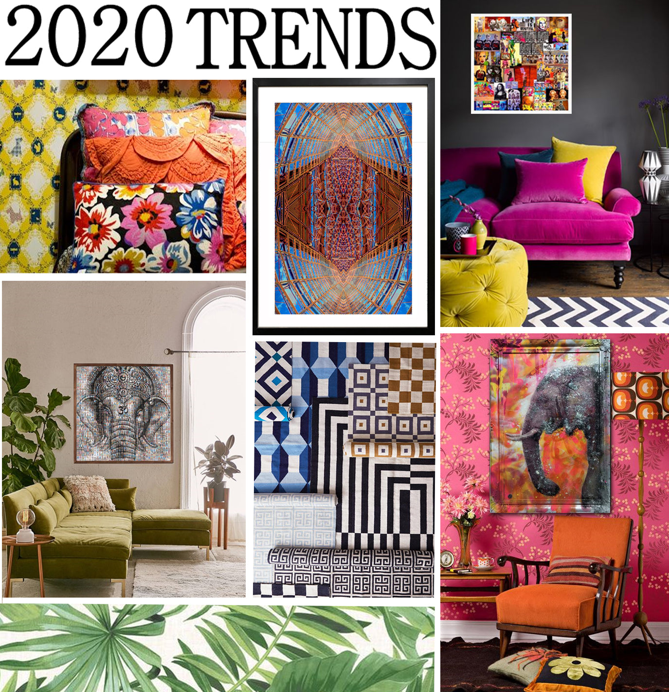 Interior and Art trends 2020
