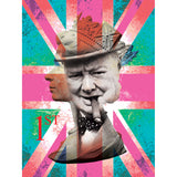 Winston Churchill Union Jack- SPECIAL EDITION