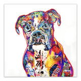 Baz the Boxer - Boxer Dog Art