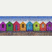 Beach Huts Art - Rec