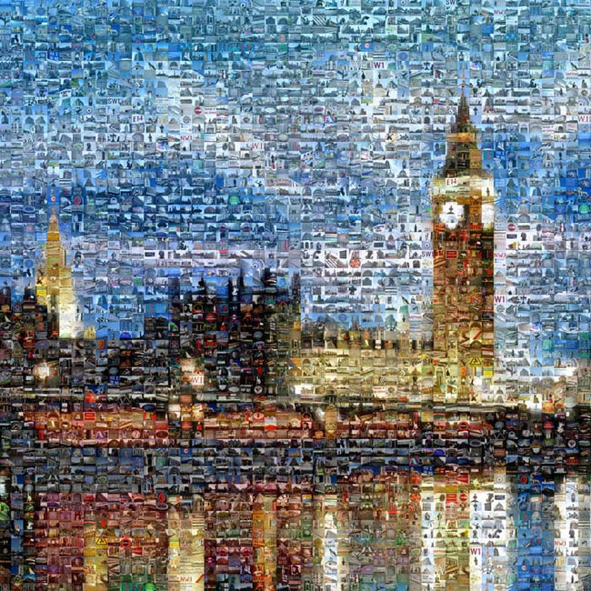 Big Ben Art - Lights