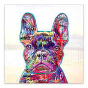 French bull dog art