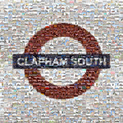 Clapham South Tube Sign