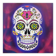 Day of The Dead Purple