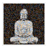 meditating buddha art