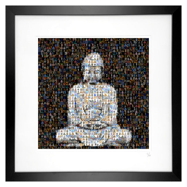 framed buddha artwork