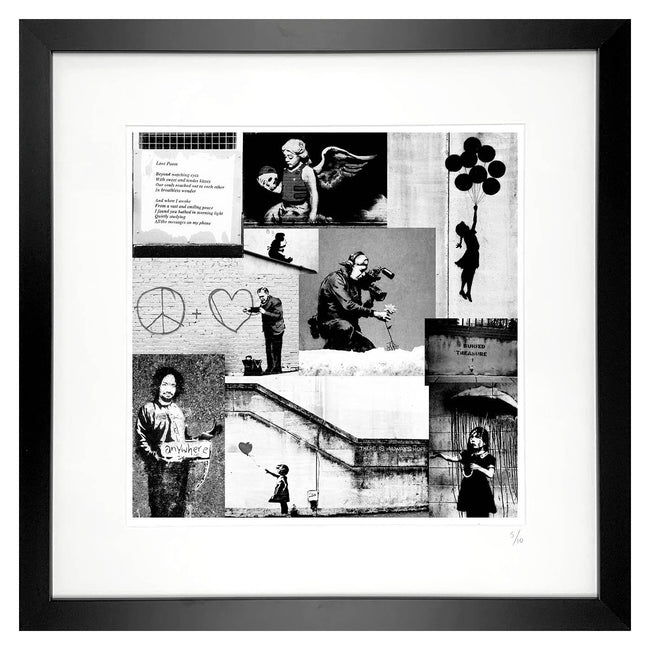 banksy limited edition print