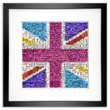 Framed union jack artwork