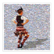 Highland Dancer art