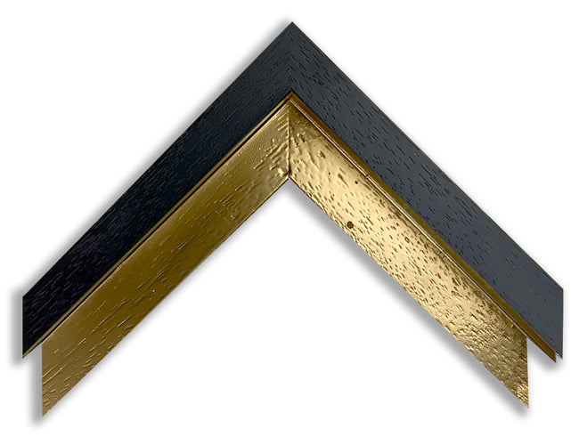 INLAY FRAME CUSTOM - BLACK with GOLD INLAY