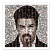 George Michael mosaic art