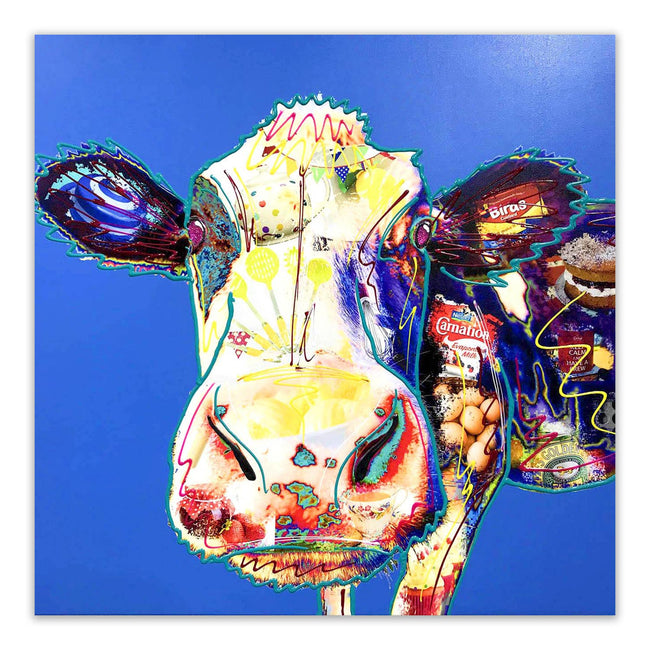 Mavis Baker Blue Cow