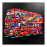 London bus art