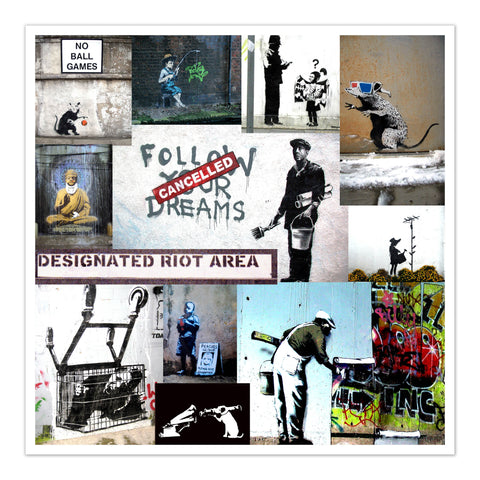banksy strret art