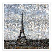 Parisian mosaic art