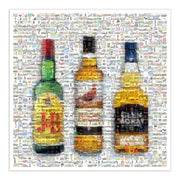 Scottish whiskey art