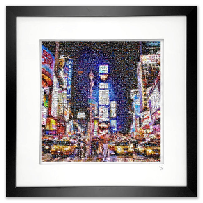Framed New York art