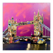 Tower Bridge Pink Skies