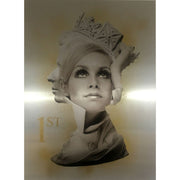 Twiggy is 1st Class - Yellow - Limited Editions by Dan Pearce