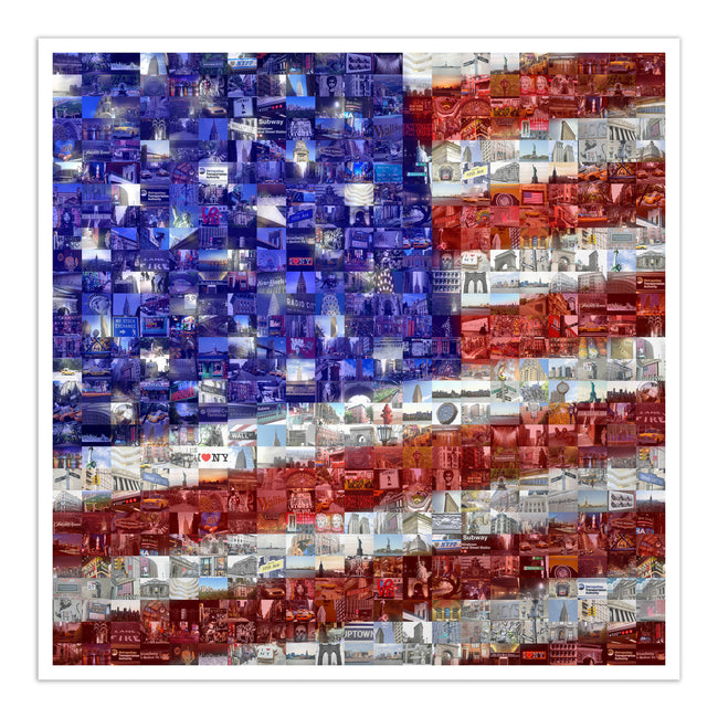 US flag art