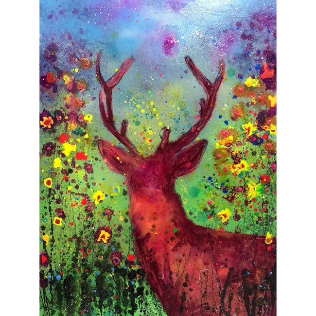 Vibrant Stag